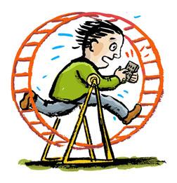 2014-06-23 Hamster-wheel-man